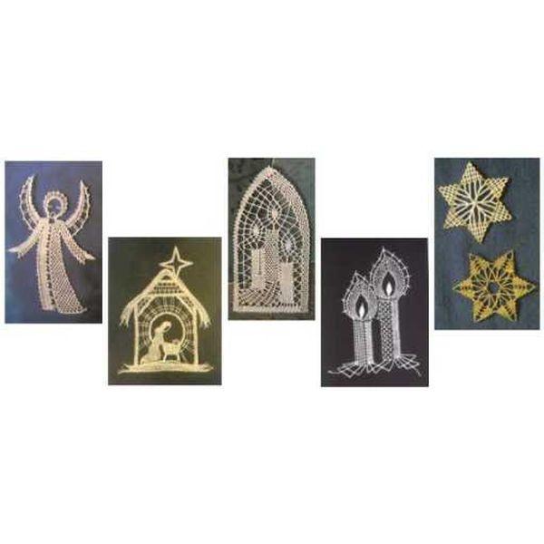 Weihnachtliche Klöppelmotive - VERGRIFFEN