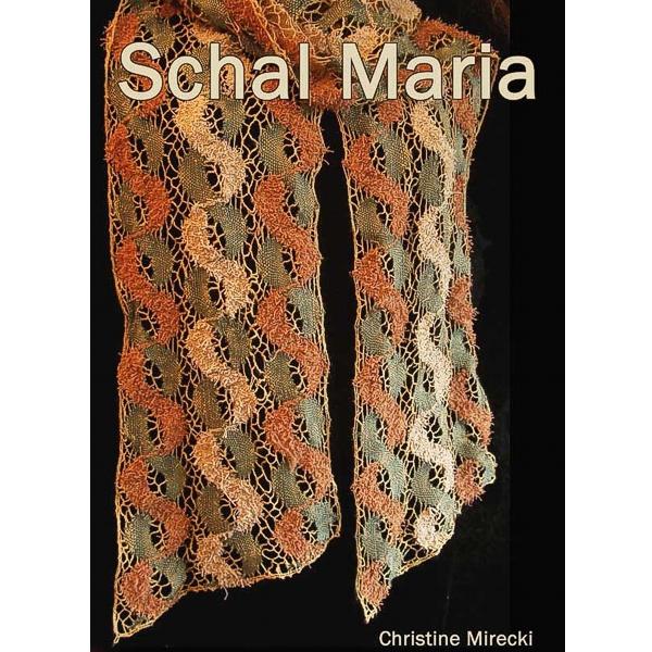 Klöppelbriefe Schal Maria