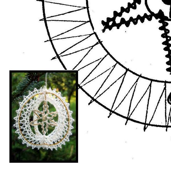 Pattern christmas 3D -ring