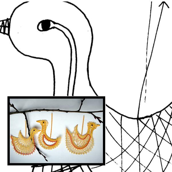 Klöppelbrief Enten