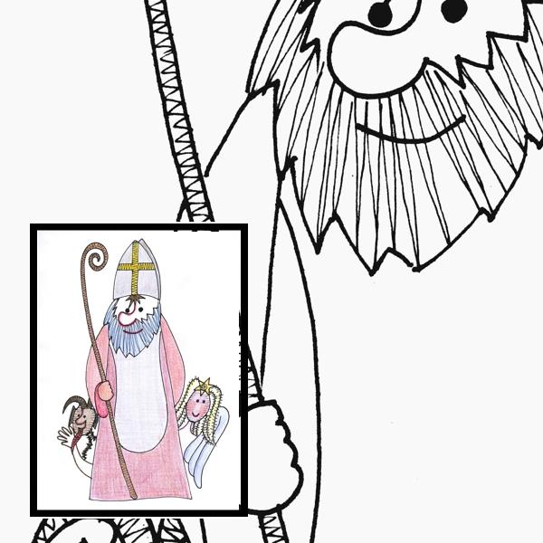 Klöppelbrief Nikolaus
