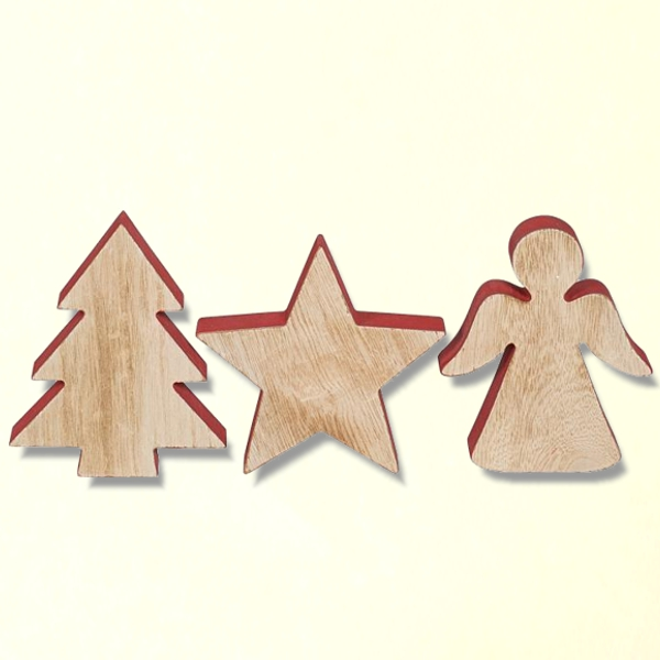 Christmas deco from wood