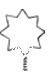 Christmas Tree Topper Star  big: 20 cm (7,9 in)