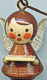 Wooden Miniatures to Hanging - Christmas Angel nature