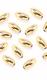 Perlen - Gold 6 x 3 mm - 45 St.