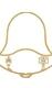 Holzrahmen Glocke mit Motiv für Minipyramide