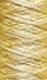 FRANKs cotton yarn - Strength 20/3 (= NeL 35/2) yellow (03)